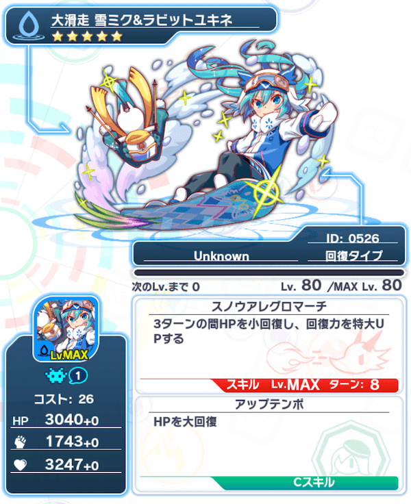 Unit526_大滑走雪ミク&ラビットユキネ
